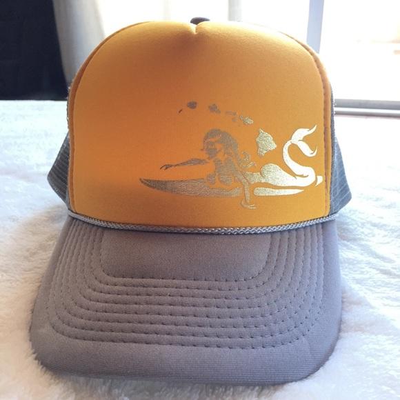 192570c5b07 Accessories - Surfing Mermaid Trucker Hat